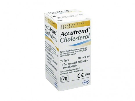 CHOLESTEROL ACCUTREND STRIPS