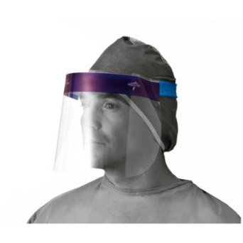 FACESHIELD DISPOSABLE FULL SHIELD CLEAR