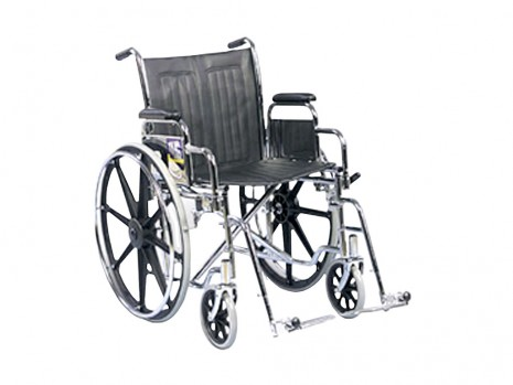 WHEELCHAIR 20 IN. DETACHABLE ARM & LEGREST