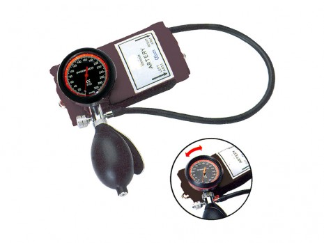 SPHYGMOMANOMETER ANTI-SHOCK, SELF-CALIBRATING, AMBIDEXTROUS, D-RING