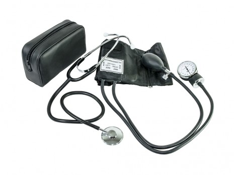 SPHYGMOMANOMETER & SINGLE HEAD STETHOSCOPE
