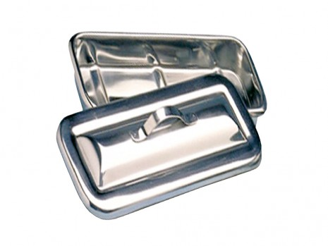 CATHETER TRAY & STAINLESS STEEL COVER