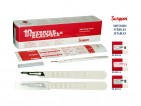 STERILE DISPOSABLE SCALPEL SURGEON