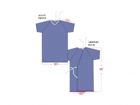 REUSABLE PATIENT GOWN
