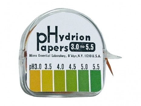PHIZINE PAPER 4.5 TO 7.5, WITH ROLL DISPENSER