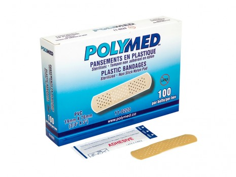 STERILE PLASTIC STRIP, POLYMED