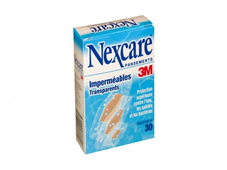 WATERPROOF BANDAGE SET, NEXCARE