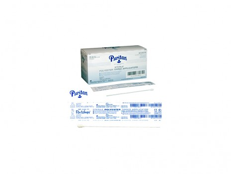 6 IN. STERILE POLYESTER-TIPPED APPLICATOR