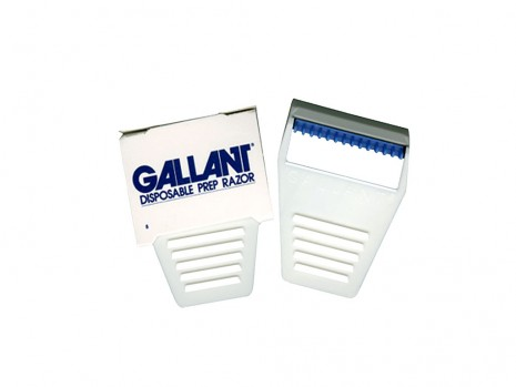 DISPOSABLE SAFETY PREPARATION RAZOR GALLANT