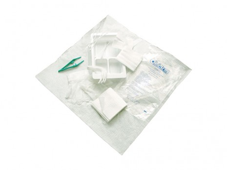 STERILE SINGLE USE TRACHEOSTOMY CARE TRAY CLINI-TRAY