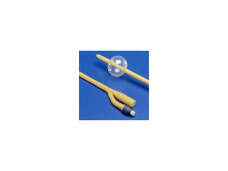 SILICONE-COATED 2-WAY FOLEY CATHETER KENGUARD