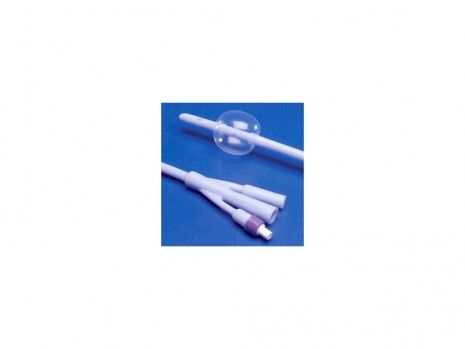 100 % SILICONE 3-WAY FOLEY CATHETER