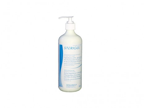 STERIGEL HAND ANTISEPTIC 70 % ETHYL ALCOHOL