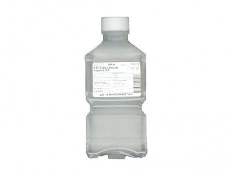 NACL 0.9% FOR IRRIGATION IN BOTTLE
