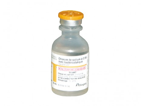 NACL BACTERIOSTATIC INJECTABLE