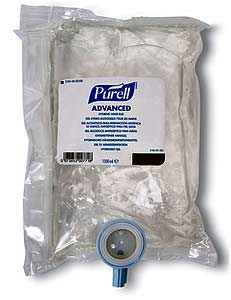 PURELL HAND SANITIZER GEL FOR NXT MANUAL DISPENSER CLEAR